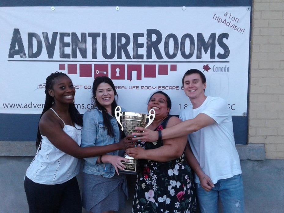adventure rooms canada, escape rooms waterloo region, escape rooms kitchener, things to do kitchener, team building kitchener, wedding party ideas, group activities, family fun