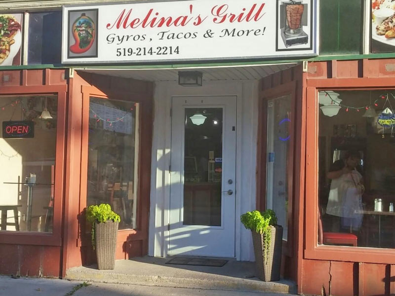 Melina's Grill Gyros Tacos and more!