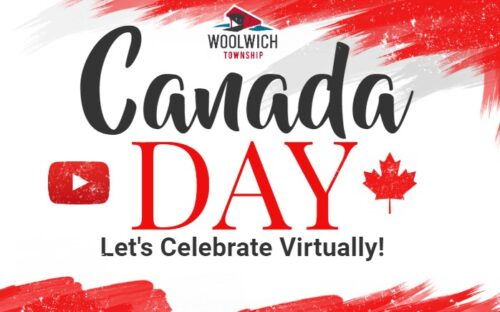 Township of Woolwich Canada Day Banner 2020