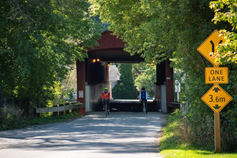 West Montrose Covered Bridge during the Waterloo Guelph Explorer