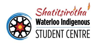 logo for the Waterloo Indigenous Student Centre at the University of Waterloo