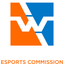 ornage and black logo of the Waterloo Region Esports Commission