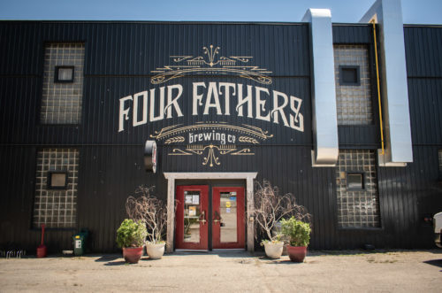 Four Fathers Brewing receives Ontario by Bike 2021 Best Bicycle Friendly Business award