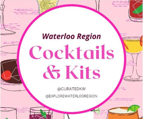 logo for curated kw's Cocktails and Kits guide